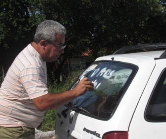 Divisa Piauí-Maranhão.Greve dos caminhoneiros no 7º  dia .
