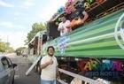 Caminhões tomam avenida Raul Lopes no Corso 2020 - Imagem 1