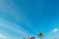 Gabi Pinho nas Maldivas