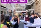 Val Marchiori faz doações a moradores de rua - Imagem 2
