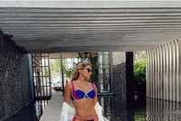 Gabi Pinho e empresário Fernandin curtem dias em resort de luxo