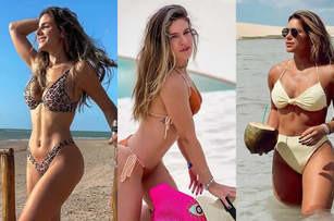 As musas piauienses que estavam na praia no feriado