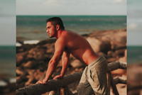 Brenno Gonçalves: militar piauiense fez ensaio no litoral