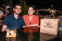 Sábado nos restaurantes Coyote e Texas