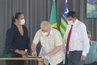 Lula participa de inauguração de escola em Teresina - Imagem 9