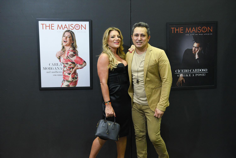 Cícero Cardoso lança revista The Maison