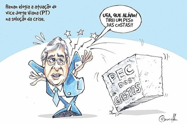 Charge do jornal de sexta-feira (09/12/16)