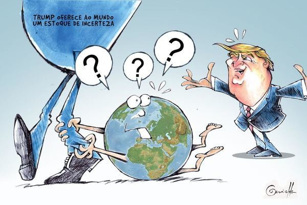 Charge do jornal de domingo (22/01/17)