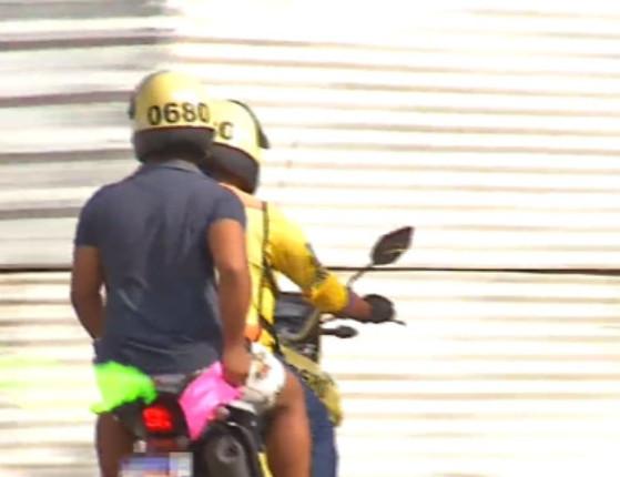 """Mototaxista solta pum no """"rosto de cliente"""" e caso vai parar na polícia"""
