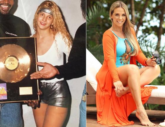 Compare! Confira o antes e depois das ex-dançarinas do É o Tchan