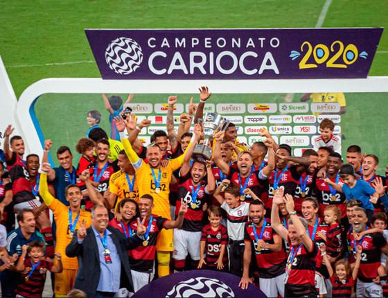 Flamengo vence Boavista por 2 a 1 e é campeão da Taça Guanabara