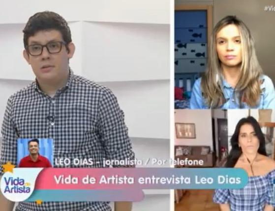 Exclusivo: Léo Dias fala sobre treta com Anitta no Vida de Artista;vídeo