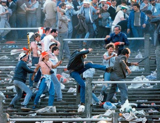 Barbárie vence o futebol e deixa 39 pessoas mortas em estádio belga