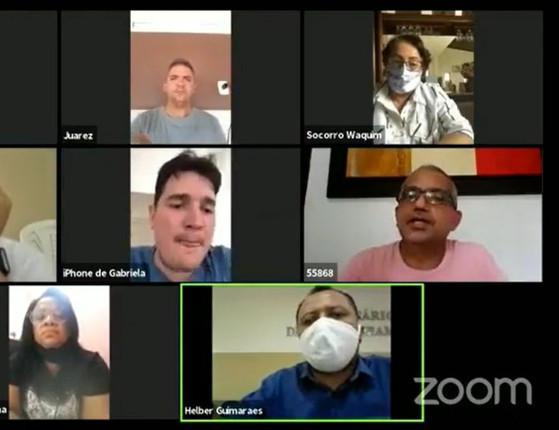 Confusão! Vereadores de Timon trocam ofensas em sessão; vídeo