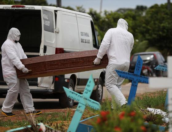 Brasil tem 1.038 mortes em 24h e total ultrapassa 60 mil, diz Saúde