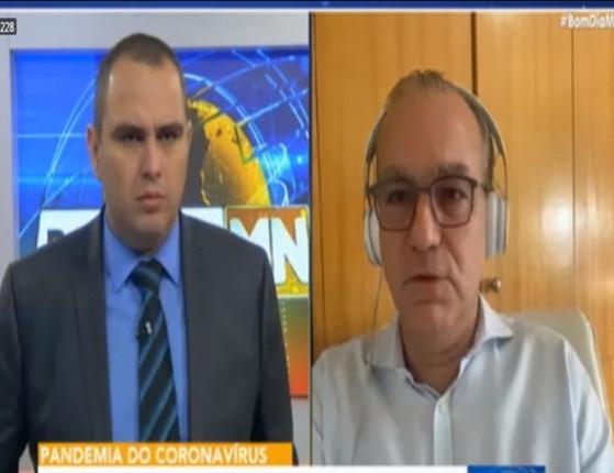 """""""Já passamos do pico do Covid"""", afirma Firmino Filho em entrevista"""