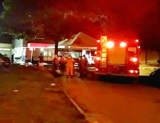 UTI do setor Covid do hospital de Parnaíba tem princípio de incêndio