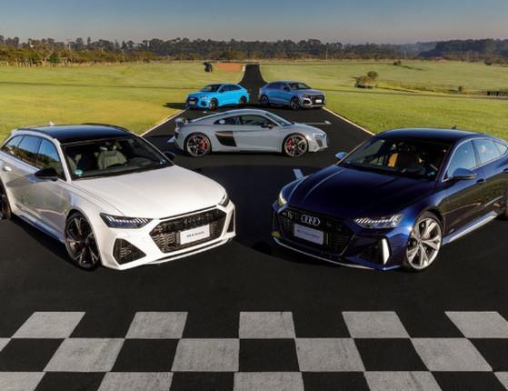 Audi inicia pré-venda de sua gama de veículos esportivos pelo Brasil