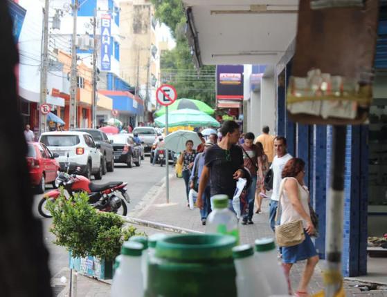 Lojas no centro e shoppings de Teresina não têm previsão de volta