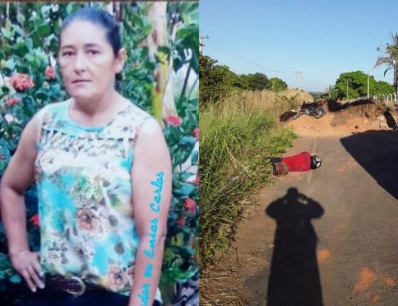 PI: Mãe morre e filho fica ferido ao colidir moto contra barreira em via