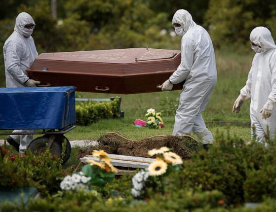 Brasil registra 1.091 mortes pela Covid-19 e total ultrapassa 64 mil
