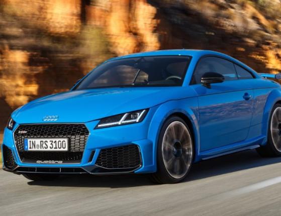 Audi inicia pré-venda dos novos esportivos TT RS, RS 4 e 5 no país