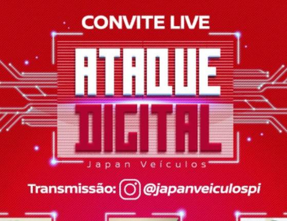 Live: Prepare-se para as ofertas do Ataque Digital da Japan Veículos!
