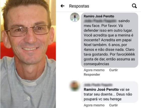 """Polêmica: Padre diz que criança de 10 anos """"compactuou com  estupro"""""""