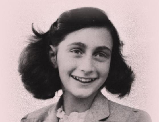 Não podemos esquecer os relatos de Anne Frank