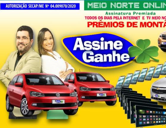 Assine Ganhe: Jornal Meio Norte vai sortear carros e eletrônicos