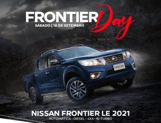 Frontier Day:  condições incríveis para  picape 2021 da Nissan; saiba