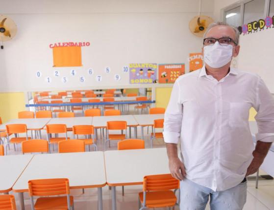Aulas não serão retomadas nesta terça-feira (22), diz Firmino Filho