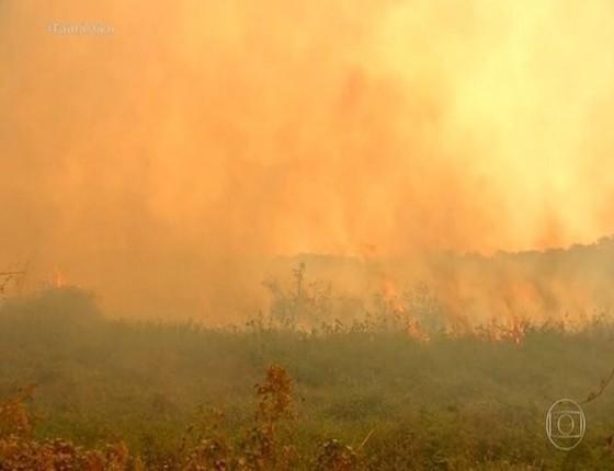 Fazendeiro réu por corrupção é investigado por fogo no Pantanal