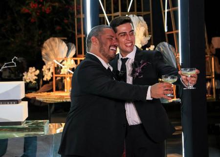 Confira as fotos do casamento  de Igor Leite com Zé Martins em THE