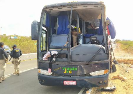 Todas as vítimas de acidente com ônibus eram crianças, diz PRF