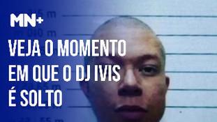 Veja o momento em que o DJ Ivis é solto em Fortaleza