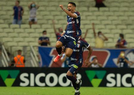 Fortaleza vence  Athletico e assume vice-liderança do Brasileirão