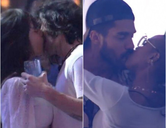 BBB21: Festa do líder forma casais e tem primeiros beijos da edição