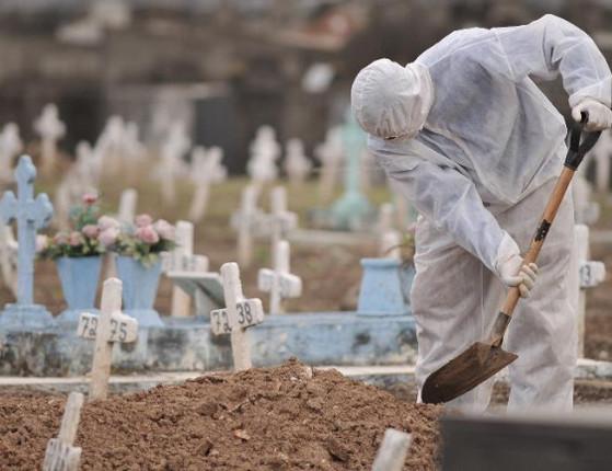 Brasil tem 1.800 mortes por Covid-19 em 24h e ultrapassa 262 mil