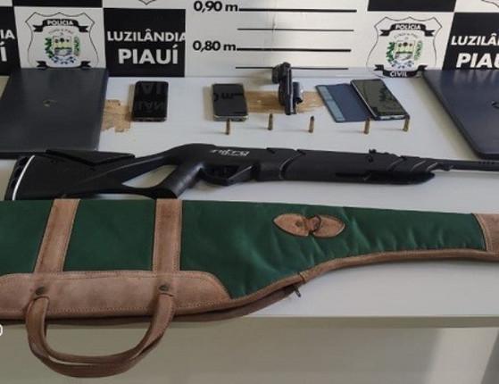 Polícia Civil  prende acusados de estupro e porte de arma no Piauí