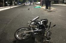 Motociclista morre após colidir em poste na Avenida Maranhão