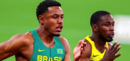 Brasileiro Paulo André avança à semifinal dos 100m rasos das Olimpíadas