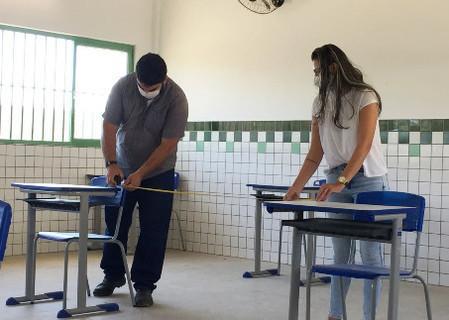 Semec garante escolas prontas para retorno às aulas em Teresina