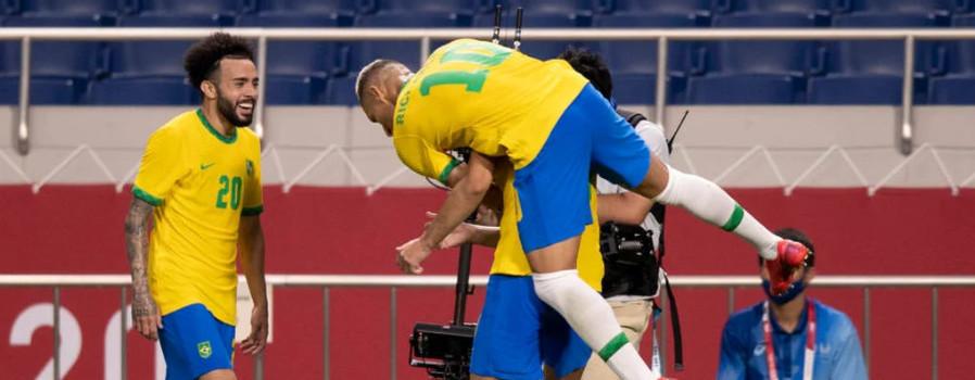 Brasil vence o Egito e avança para a semifinal das Olimpíadas de Tóquio