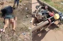 Entregadora morre em colisão com caminhão na zona Norte de THE