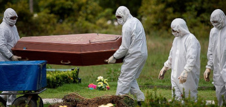 Brasil registra 1.175 mortes por Covid-19 e 40,7 mil novos casos em 24h