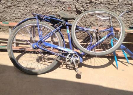 Idoso que estava de bicicleta morre ao ser colhido por carro na PI-354