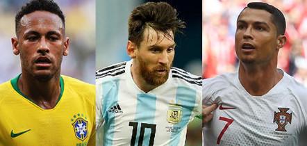 Veja a lista dos cinco jogadores de futebol  mais bem pagos do mundo