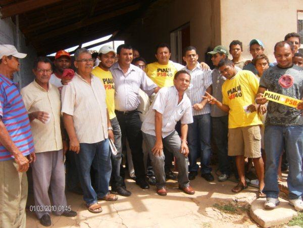 Ontem dia 7 de janeiro de 2010 o prefeito Zacarias e sua comitiva estiveram em reunião com represetante do vice governador Wilsson Martins