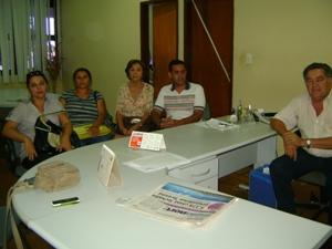 Prefeito se reúne com Secretária e Diretores de Escolas Municipais.